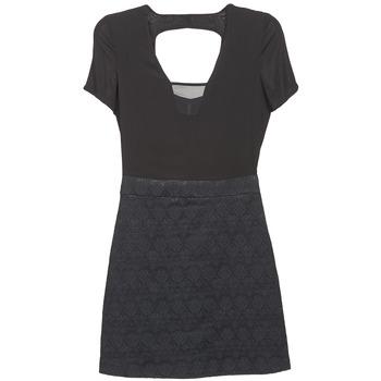 Odjeća Žene  Kratke haljine Naf Naf EKLATI Crna