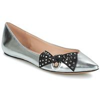 Obuća Žene  Balerinke i Mary Jane cipele Marc Jacobs RITA POINTY TOE Srebrna