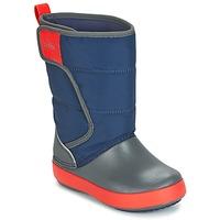 Obuća Djeca Čizme za snijeg Crocs LODGEPOINT SNOW BOOT K Blue