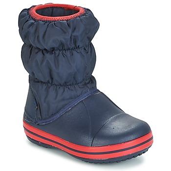 Obuća Dječak  Čizme za snijeg Crocs WINTER PUFF BOOT KIDS Blue