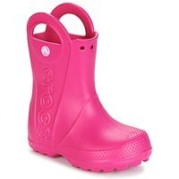 Obuća Djevojčica Gumene čizme Crocs HANDLE IT RAIN BOOT Ružičasta