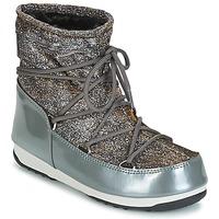Obuća Žene  Čizme za snijeg Moon Boot MOON BOOT WE LOW LUREX Siva / Srebrna