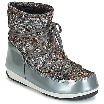 Obuća Žene  Čizme za snijeg Moon Boot MOON BOOT WE LOW LUREX Grey / Stříbřitá