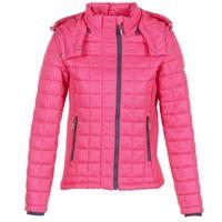 Odjeća Žene  Pernate jakne Superdry FUJI BOX QUILTED Ružičasta