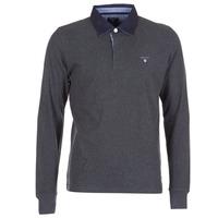 Odjeća Muškarci  Polo majice dugih rukava Gant THE ORIGINAL HEAVY RUGGER Siva