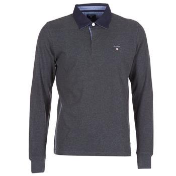 Odjeća Muškarci  Polo majice dugih rukava Gant THE ORIGINAL HEAVY RUGGER Grey