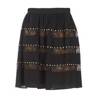 Odjeća Žene  Suknje MICHAEL Michael Kors HT/ LACE MIX Crna