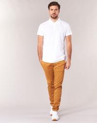 Odjeća Muškarci  Chino hlačei hlače mrkva kroja Casual Attitude IHOCK Bež
