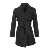 Odjeća Žene  Kaputi Kaporal BANJO Crna