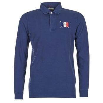 Odjeća Muškarci  Polo majice dugih rukava Serge Blanco POCHON Blue