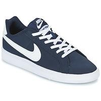 Obuća Djeca Niske tenisice Nike COURT ROYALE GRADE SCHOOL Blue / Bijela