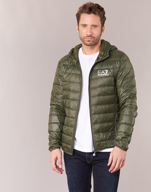 Odjeća Muškarci  Pernate jakne Emporio Armani EA7 TRAIN CORE ID DOWN LIGHT HD Kaki