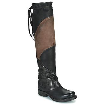 Obuća Žene  Čizme iznad koljena Airstep / A.S.98 SAINT EC PATCH Black