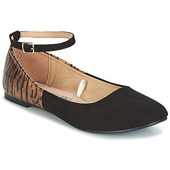 Obuća Žene  Balerinke i Mary Jane cipele Moony Mood HALIMY Crna