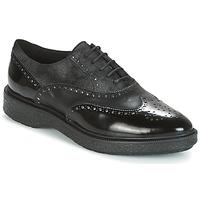 Obuća Žene  Derby cipele Geox D PRESTYN Crna