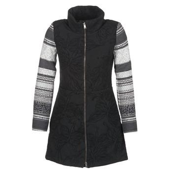 Odjeća Žene  Kaputi Desigual GRAME Crna
