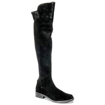 Obuća Žene  Čizme iznad koljena Buffalo NUPAN Crna