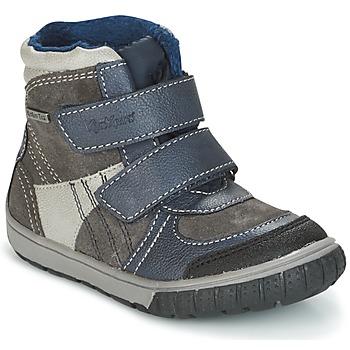 Obuća Dječak  Čizme za snijeg Kickers SITROUILLE Siva / Zagasita / Blue