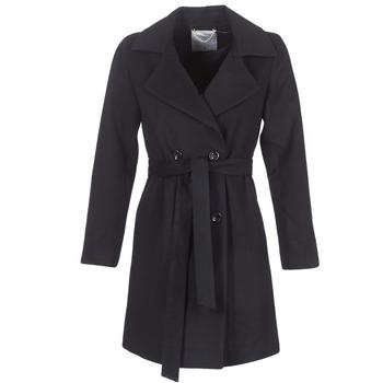 Odjeća Žene  Kaputi Casual Attitude HALLOA Black