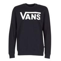 Odjeća Muškarci  Sportske majice Vans VANS CLASSIC CREW Crna