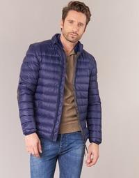 Odjeća Muškarci  Pernate jakne Vicomte A. DOUDOUNE HOMME MANCHES LONGUES NAVY Blue