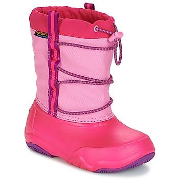 Obuća Djevojčica Čizme za snijeg Crocs Swiftwater waterproof boot Party / Ružičasta