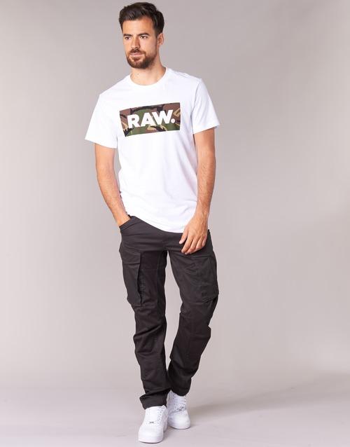 Odjeća Muškarci  Cargo hlače G-Star Raw ROVIC ZIP 3D TAPERED Raven