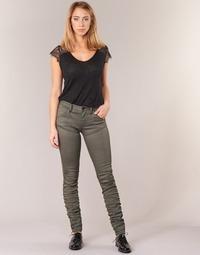 Odjeća Žene  Skinny traperice G-Star Raw 5620 STAQ 3D MID SKINNY COJ WMN Kaki