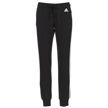 Odjeća Žene  Donji dio trenirke Adidas Performance PAP ESS 3S PANT CH Crna