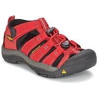 Obuća Djeca Sportske sandale Keen KIDS NEWPORT H2 Red / Siva