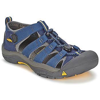 Obuća Djeca Sportske sandale Keen KIDS NEWPORT H2 Blue / Siva