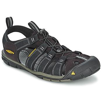 Obuća Muškarci  Sportske sandale Keen MEN CLEARWATER CNX Black / Grey