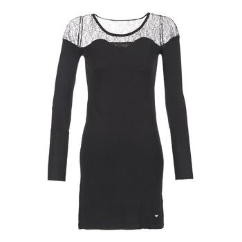 Odjeća Žene  Kratke haljine LPB Woman DARTO Crna