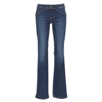 Odjeća Žene  Bootcut traperice Pepe jeans PIMLICO Ca0 / Blue / Brut