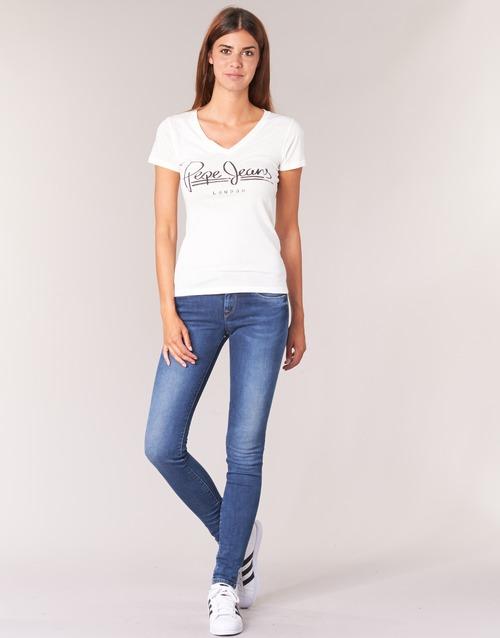 Odjeća Žene  Skinny traperice Pepe jeans SOHO Z63 / Blue