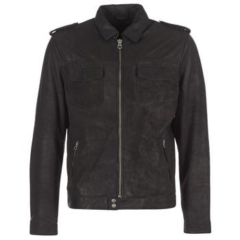 Odjeća Muškarci  Kožne i sintetičke jakne Pepe jeans NARCISO Crna