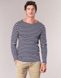 Odjeća Muškarci  Majice dugih rukava Armor Lux GELGA Bijela
