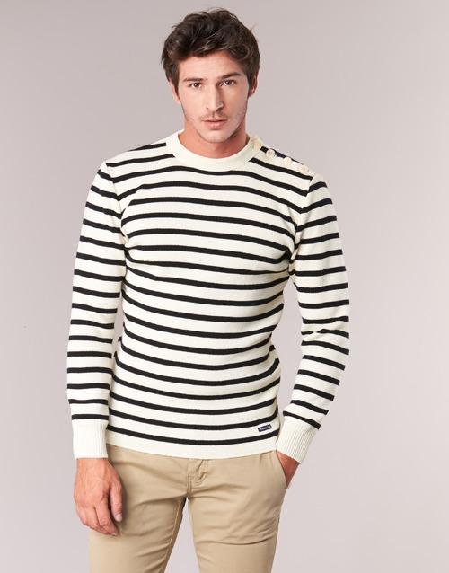 Odjeća Muškarci  Puloveri Armor Lux FOUESNANT Bijela