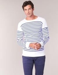 Odjeća Muškarci  Majice dugih rukava Armor Lux AMIRAL Bijela / Blue