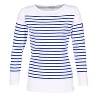 Odjeća Žene  Majice dugih rukava Armor Lux AMIRAL Bijela / Blue