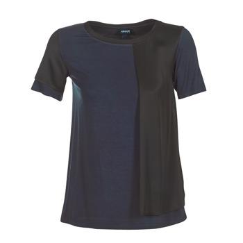 Odjeća Žene  Majice kratkih rukava Armani jeans DRANIZ Crna