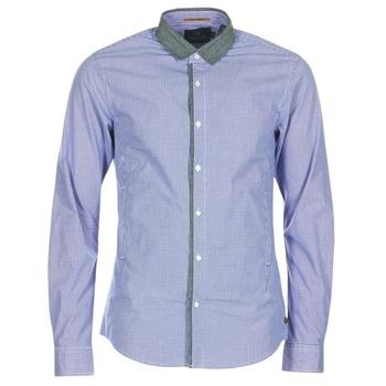 Odjeća Muškarci  Košulje dugih rukava Scotch & Soda JILLA Blue