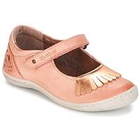 Obuća Djevojčica Balerinke i Mary Jane cipele Kickers CALYPSO Korálová