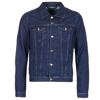 Odjeća Muškarci  Traper jakne Yurban IHEDEM Blue / Brut
