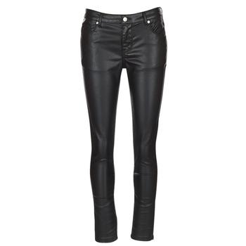 Odjeća Žene  Hlače s pet džepova Moony Mood HENDUI Black