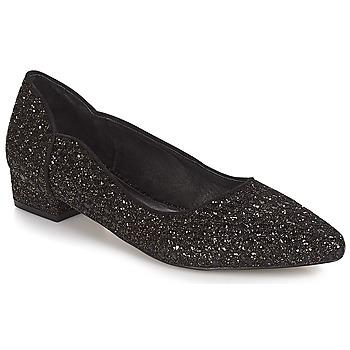 Obuća Žene  Balerinke i Mary Jane cipele Ravel  Crna-šljokice