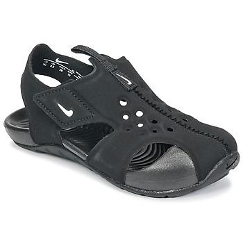 Obuća Djeca Sandale i polusandale Nike SUNRAY PROTECT 2 TODDLER Crna / Bijela