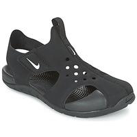 Obuća Dječak  Sandale i polusandale Nike SUNRAY PROTECT 2 CADET Crna / Bijela