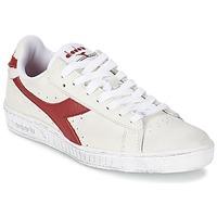 Obuća Niske tenisice Diadora GAME L LOW WAXED Bijela / Red
