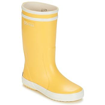 Obuća Djeca Gumene čizme Aigle LOLLY POP Yellow / White